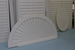 Custom Shape California Shutters