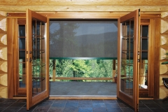 Patio  Door, interior view