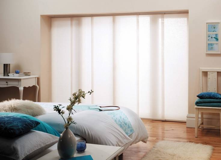 Interior coverings for bay window