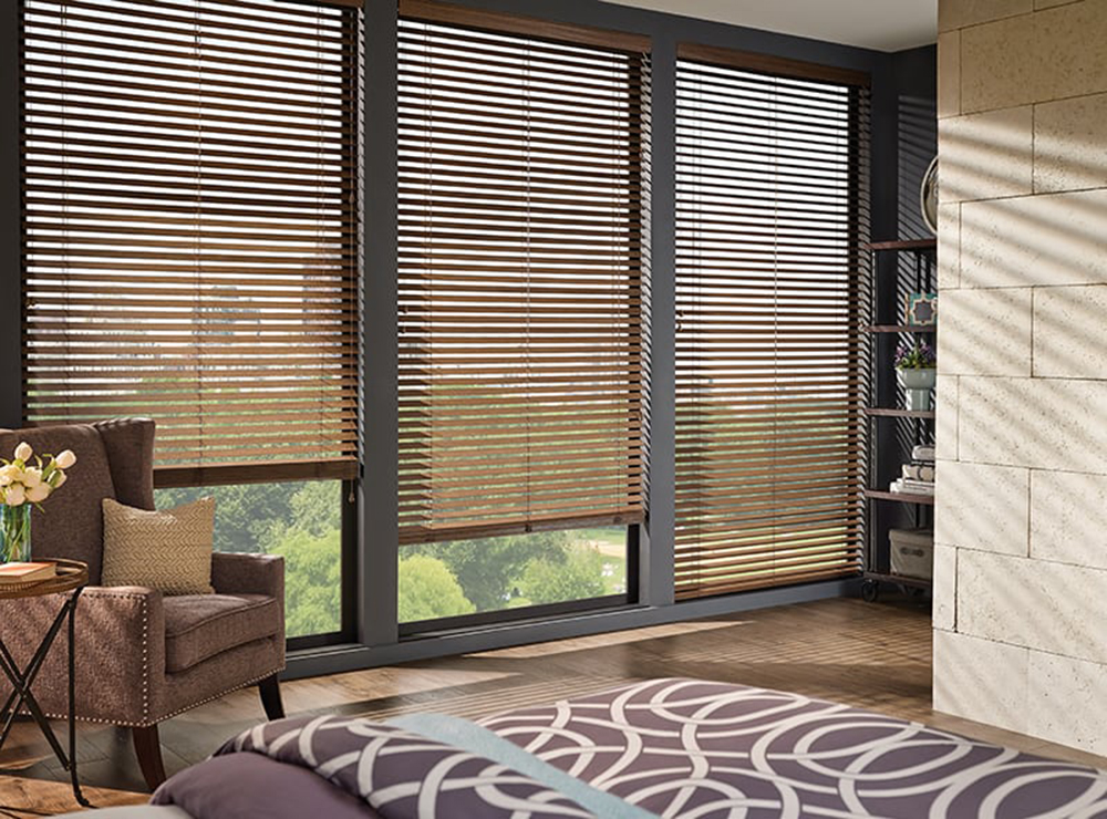 Rustic Real wood blinds   Wholesale Blind Factory