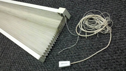 Broken strings on Honeycomb shades is one of common issues