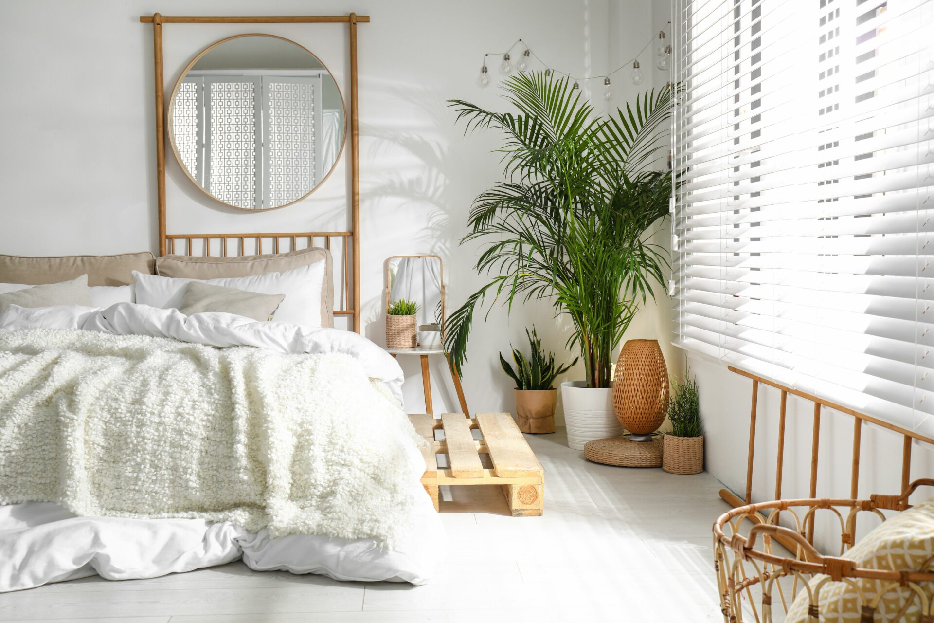 Boho Chic inspiration with blinds and shades