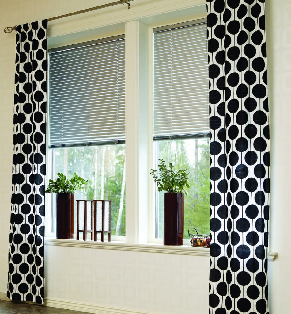 Aluminum blinds are modern touch for your home