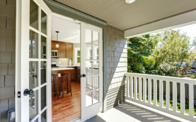 Amazing Window Treatment Ideas for a French door